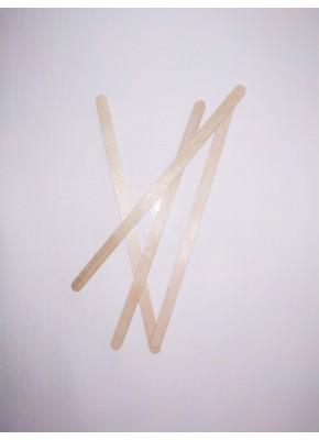 Мешалка деревянная premium полированная 14 см.