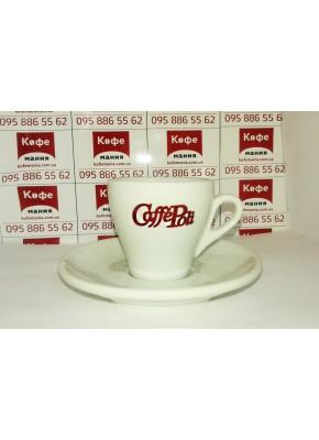 Чашка и блюдце для эспрессо: 70 мл