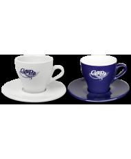 Чашка и блюдце для эспрессо: 150 мл.