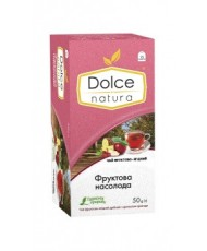 Чай пакетированный фруктово-ягодный с ароматом розы «Фруктовое Наслаждение» ТМ «DOLCE NATURA»
