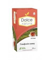 Чай пакетированный черный байховый чай «Симфония Вкуса» ТМ «DOLCE NATURA»
