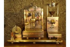 Первая кофемашина. История.