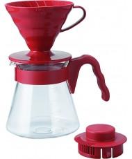 Набор пуровер для заваривания кофе Hario V60 02 на 1-4 чашки