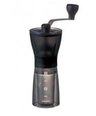 Кофемолка HARIO Мини Милл Слим+Плюс MSS-1DTB с керамическими жерновами и регулировкой помола