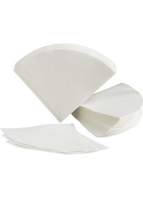Бумажные белые фильтры V60 для пуровера 01 Hario, 40 шт