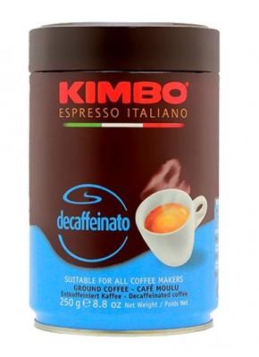 Kimbo молотый Decaffeinato 250 гр ж.б