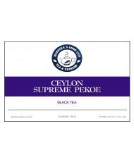 Ceylon supreme pekoe ( Цейлон Суприм Пекое )